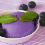 Crème glacée délicieuse